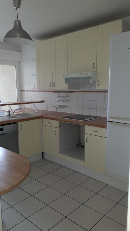 cuisine aménagée avec balcon